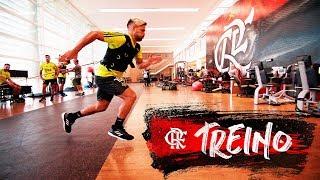 Flamengo inicia preparação para o jogo contra o Athletico-PR