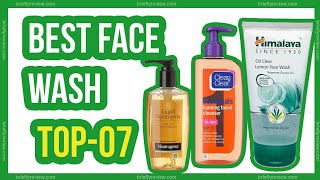 Top 07: Best face wash for oily skin in india 2019