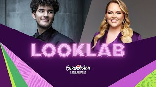 LookLab Gjon's Tears – Switzerland 🇨🇭 with NikkieTutorials