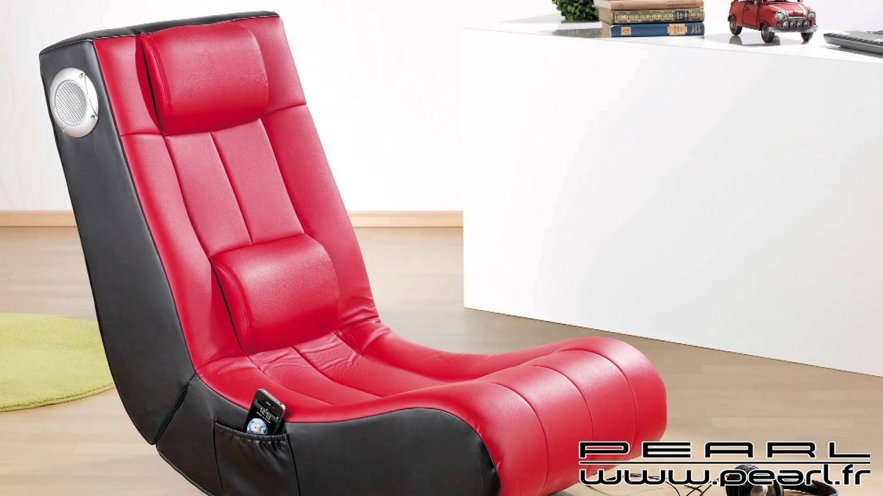 nc8720 fauteuil avec hauts parleurs int 233 gr 233 s noir