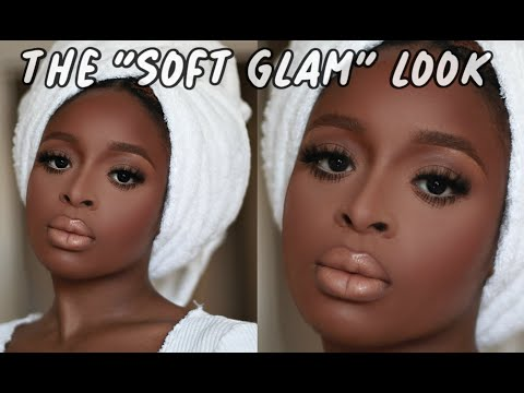 SOFT GLAM MAKEUP TUTORIAL ON BROWN SKIN Twitter made me do it thumbnail
