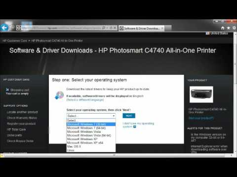 How to download and install Hp printer drivers