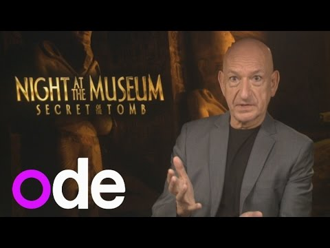AWKWARD INTERVIEW: Sir Ben Kingsley thinks presenter is on drugs!