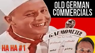 Hilarious German Commercials From The 50s And 60s | Get Germanized | HAHA Episode 01
