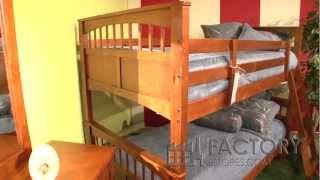 Hillsdale Taylor Falls Bunk Bed - Factoryestores.com
