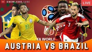 Brazil vs Austria: TV channel, live stream, squad news & match preview | Live stream link share fifa