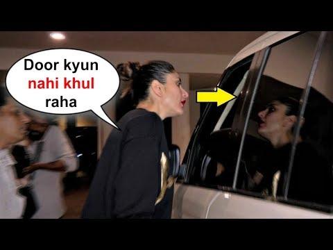 Kareena Kapoor Gets Angry On Her Driver