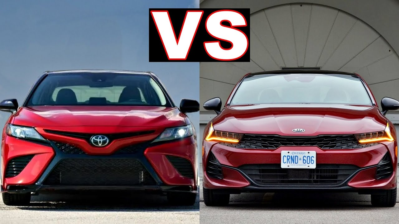 Toyota Camry vs Kia K5 (2021) Top 2 choices for family sedan cars! (full review) camry vs k5!