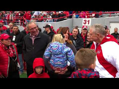 2018 Nebraska Spring Game from the Sidelines