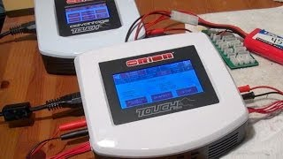 NEW Team Orion TOUCH DUO charger - how I charge my Batteries!