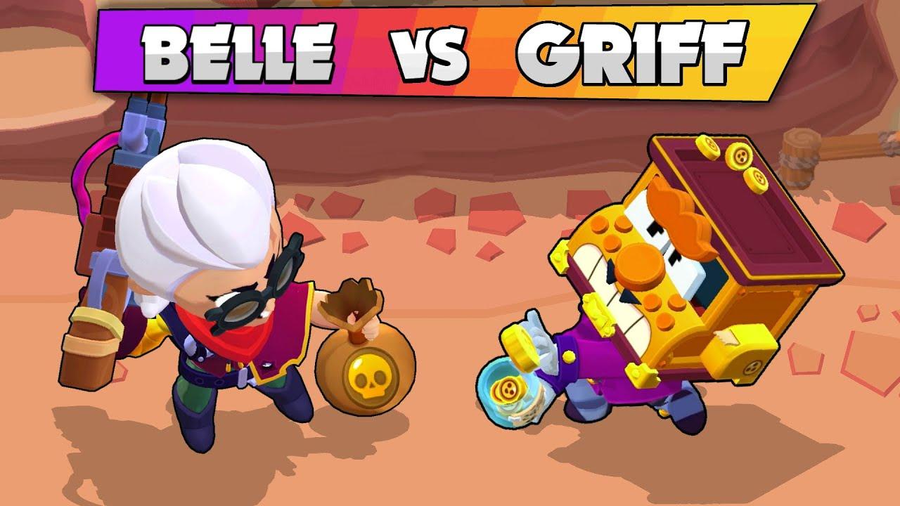 💰 BELLE vs GRIFF 🤑 1vs1 💲 Brawl Stars