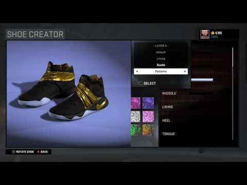 save off 96602 5eb87 NBA 2K16 Shoe Creator - Nike Kyrie 2  Drew League Champions