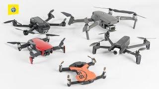 Test de drone – Comparatif de cinq modèles