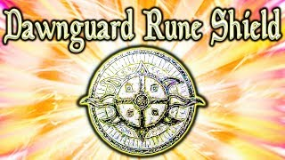 Skyrim SE - Dawnguard Rune Shield - Unique Shield Guide