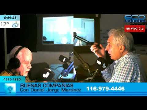 BUENAS COMPANIAS con Daniel Martinez 17-5-2018