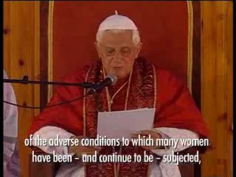 Pope Defends Womens Rights In Africa