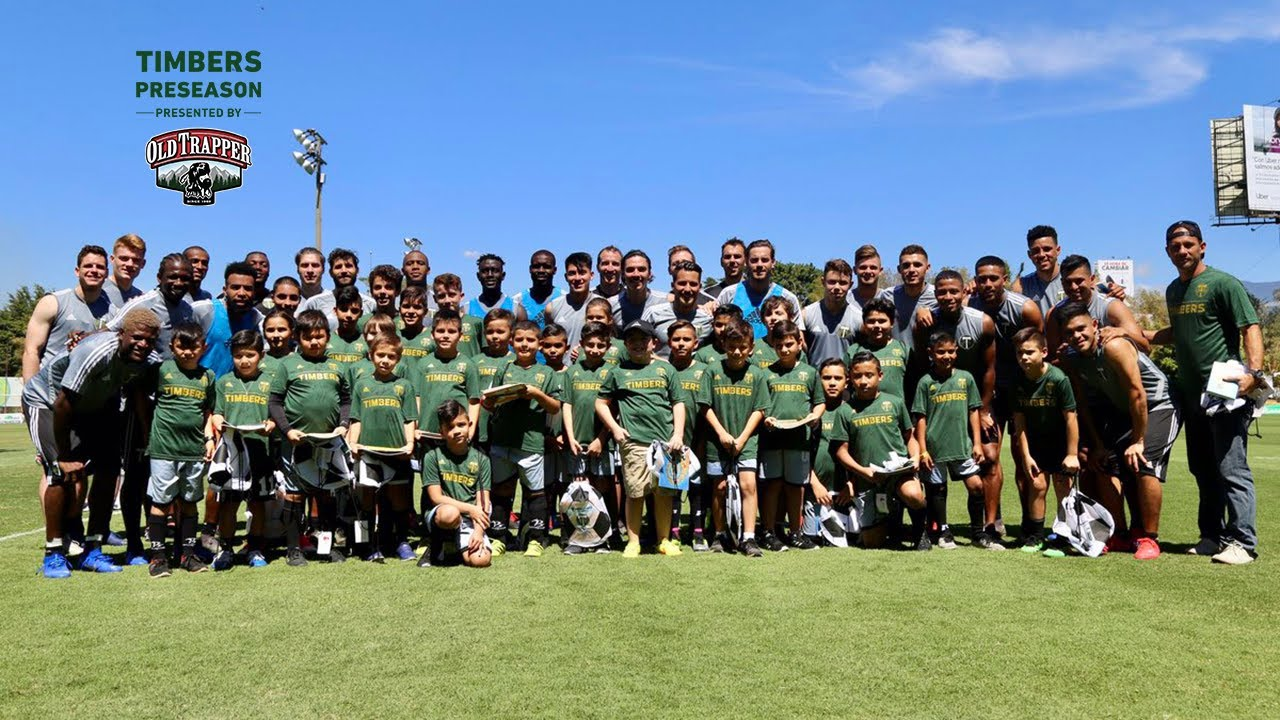 Timbers take time to give back while in Costa Rica