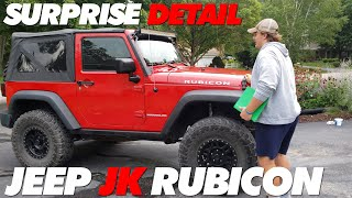Surprise Detailing My Buddy's Jeep JK Rubicon