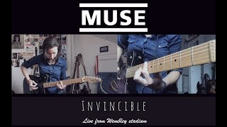 MUSE - Invincible [Live From Wembley Stadium] Guitar Cover