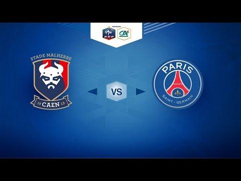 COUPE GAMBARDELLA Crédit Agricole - SM Caen / PSG - Samedi 03/02/2018 à 17h45