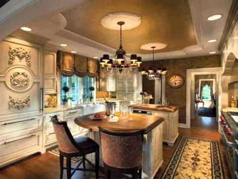 desain ruang dapur mewah youtube