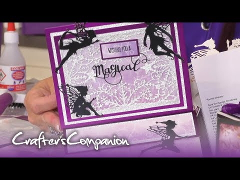 Easel Card Tutorial with Sara Signature Enchanted Christmas | Crafter's Companion thumbnail