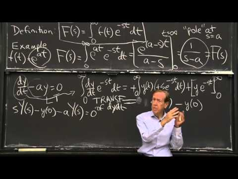 Laplace Transform: First Order Equation