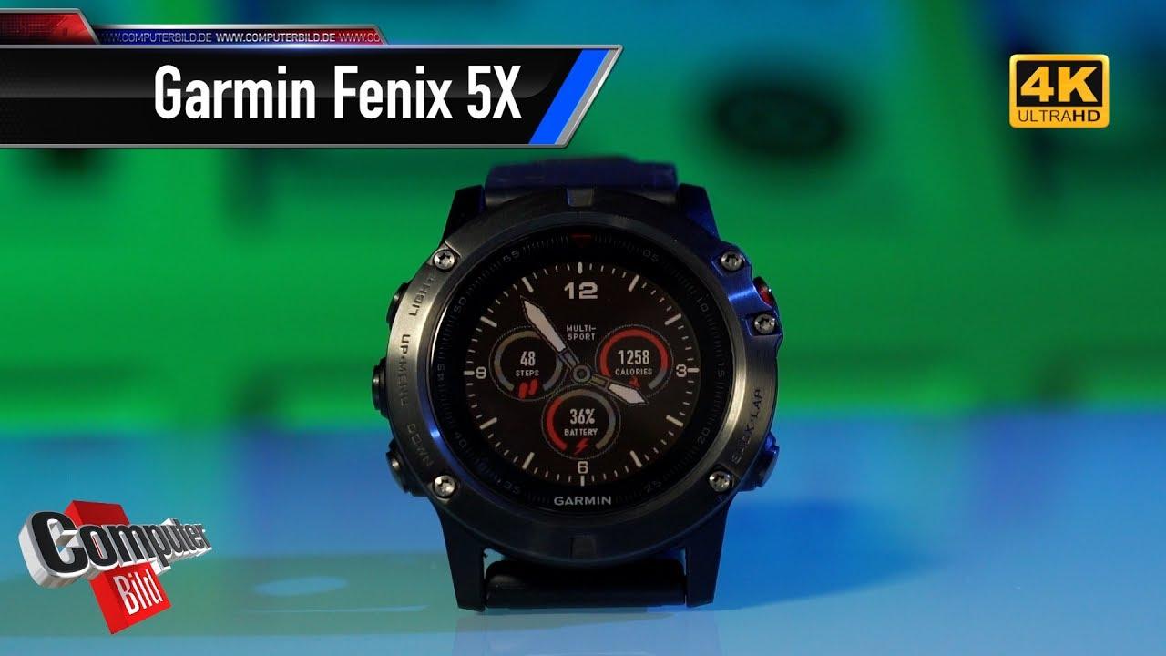 garmin fenix 5x smarte sportuhr mit gps im test youtube. Black Bedroom Furniture Sets. Home Design Ideas