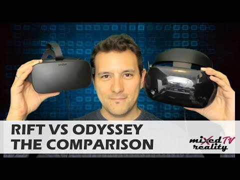 Oculus Rift vs. Samsung Odyssey - In-Depth Comparison - Which Is The Best VR Headset To Buy?