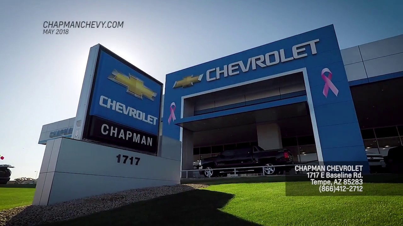 Chapman Chevrolet Tempe >> Chapman Chevy May 2018 Youtube
