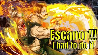 Seven Deadly Sins: Grand Cross of Light&Darkness/Escanor'ing On Them