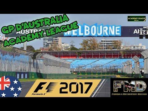 F1 2017 FMD ACADEMY LEAGUE - 1° ROUND | GRAN PREMIO D'AUSTRALIA 50% NO ASSISTS