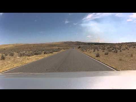 Little Bighorn Battlefield National Monument Drive Thru Tour Part 1 Montana - August 2012