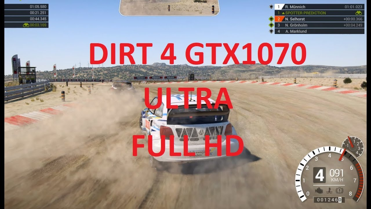 dirt 4 pc gameplay ultra 1080p 60fps gtx1070 i7 7700 youtube. Black Bedroom Furniture Sets. Home Design Ideas