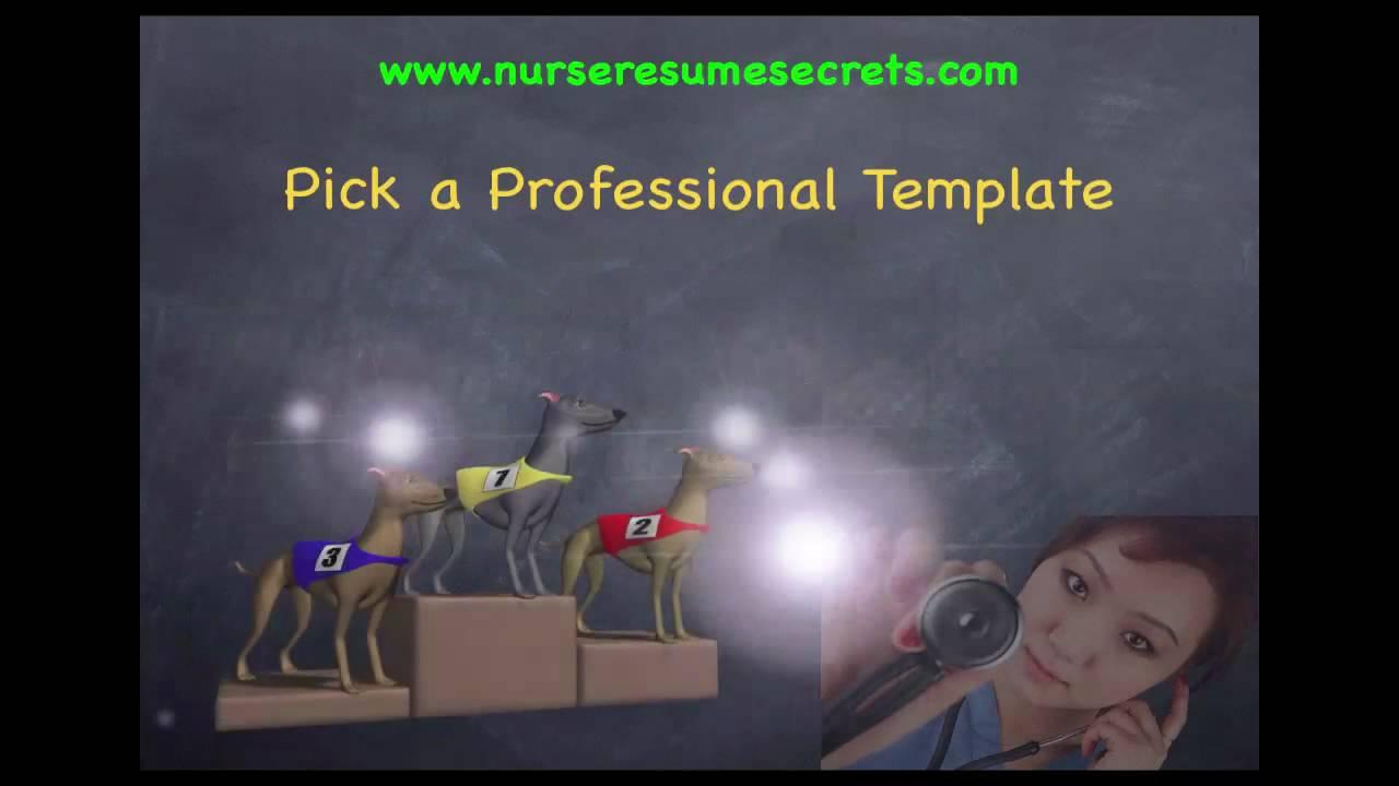 Nurse Resume Five Secrets to Write
