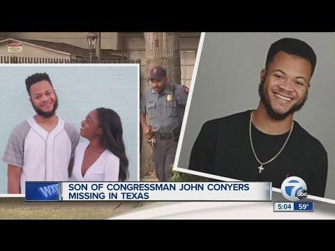 Son Of U.S. Representative John Conyers Missing In Houston, Texas