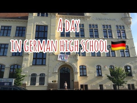A day in German high school | EXCHANGE YEAR