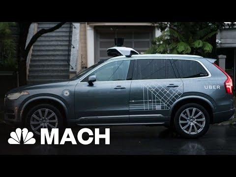 Self-Driving Uber Causes Pedestrian Death In Arizona   Mach   NBC News