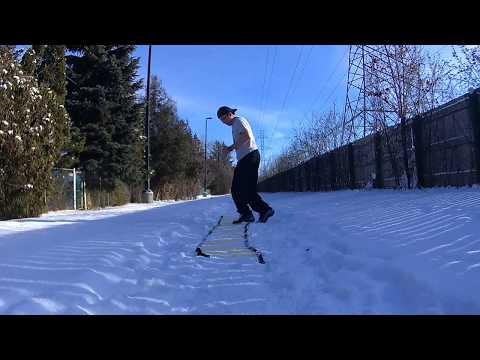 -19c Winter Workout: North York, Ontario by Noel Oco