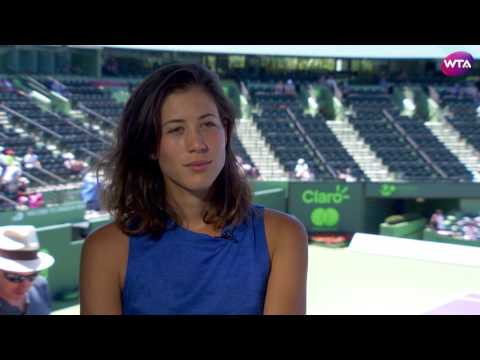 Garbiñe Muguruza | 2017 Miami Open Pre-Tournament Interview