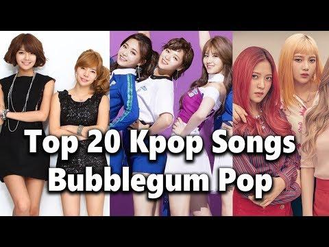 [TOP 20] Kpop Girl Group Bubblegum Pop Songs