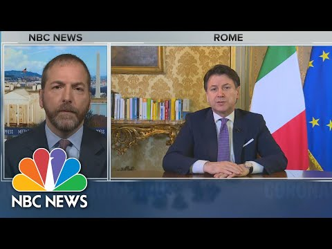 Full Italian PM: 'We Are Suffering Very Much' | Meet The Press | NBC News