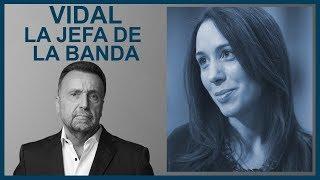Vidal: la jefa de la banda   El Destape con Roberto Navarro
