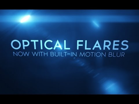 optical flares after effects cs6 mac