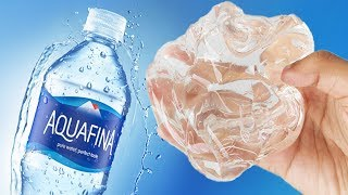 NO GLUE Water Slime, How to Make Crystal Clear Shampoo Water Slime