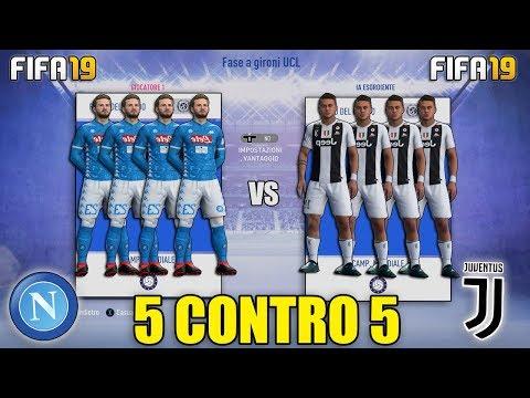5 CONTRO 5 SU FIFA 19!! LA PARTITA IMPOSSIBILE!!   FIFA 19: MODALITÀ 5 CONTRO 5!! [By Giuse360]