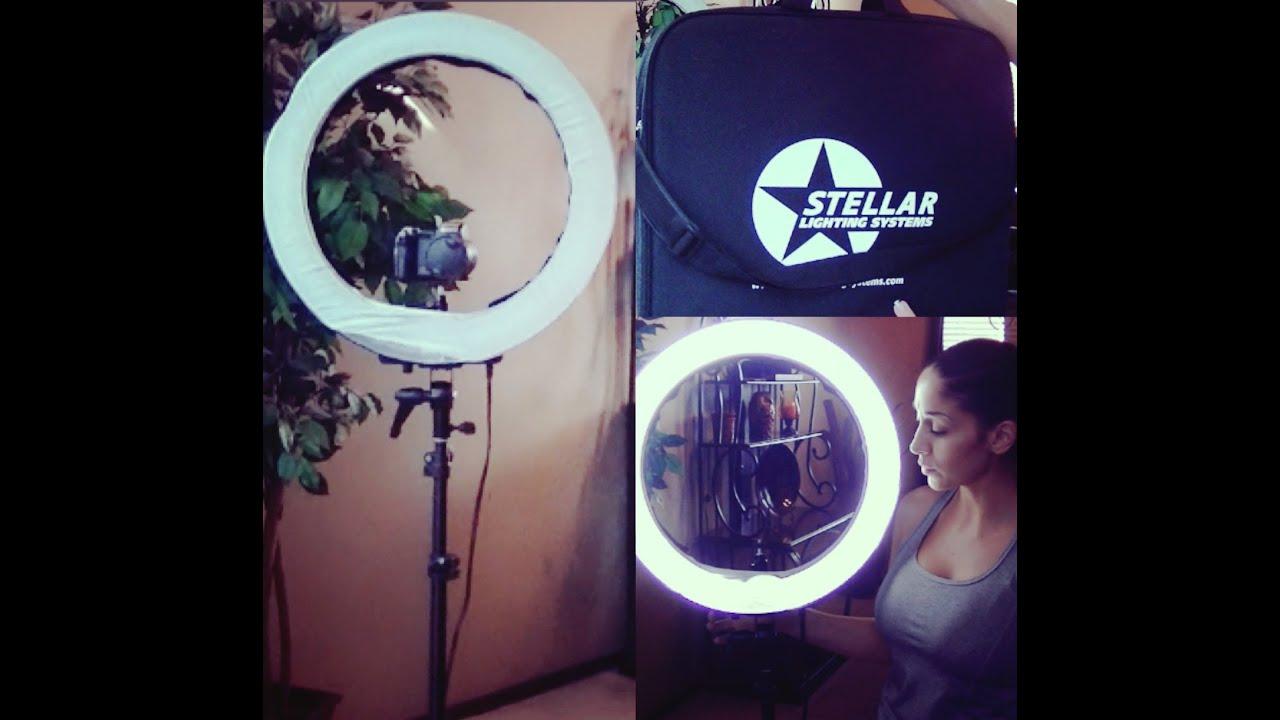 sc 1 st  YouTube & Stellar Diva Ring Light *~Review~* - YouTube