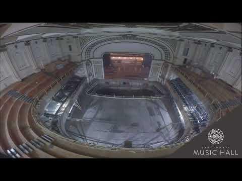 TIMELAPSE: Cincinnati Music Hall's Springer Auditorium transformed