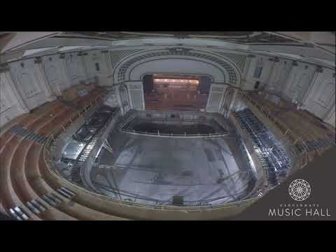 TIMELAPSE: Cincinnati Music Hall's Springer Auditorium transformed