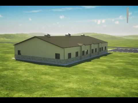 Armstrong Steel Church Rendering - YouTube